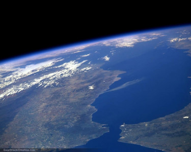 Tapeta: Modrá planeta 2