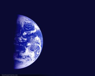 Tapeta: Modrá planeta 9