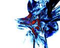 Tapeta Modré nic až do abstraktna