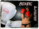 Tapeta Molli boxing girl