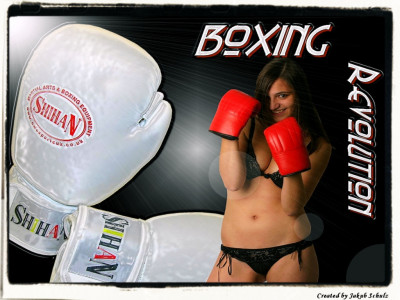 Tapeta: Molli boxing girl