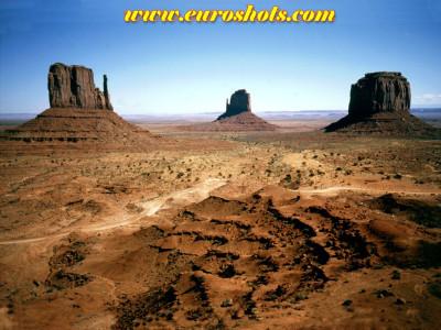 Tapeta: Monument Valley, USA