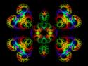 Tapeta motýl fraktál