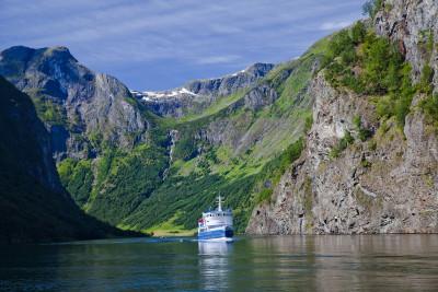 Tapeta: N?r?yfjord, Norsko