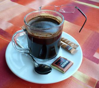 Tapeta: Na Ještědu u kávy