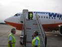 Tapeta Na letišti-Girona 2