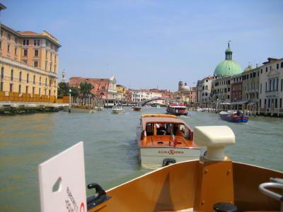 Tapeta: Na lodi v Benátkách