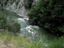 Tapeta Na divoké řece