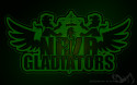 Tapeta NBZR GLADIATORS GREEN