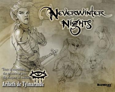 Tapeta: Neverwinter Aribeth 5