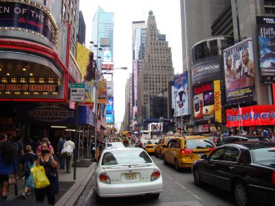 Tapeta: New York - street 2