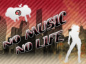 Tapeta no music no life