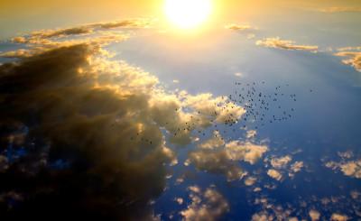 Tapeta: Oblaka10