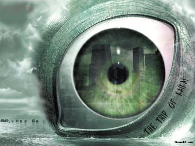 Tapeta: obří oko