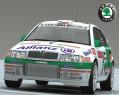 Tapeta Octavia WRC EVO II