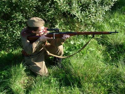 Tapeta: Odstřelovačka