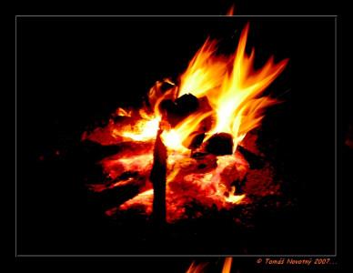 Tapeta: Oheň