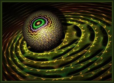 Tapeta: oko vesmíru