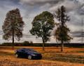 Tapeta Opel Tigra před bouří
