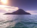 Tapeta Osamocený Ostrov