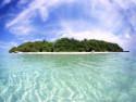 Tapeta Ostrov
