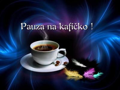 Tapeta: pauza na kafíčko