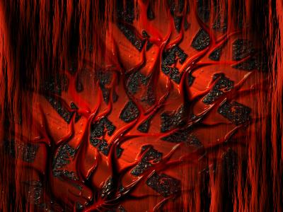 Tapeta: pekelná rostlina