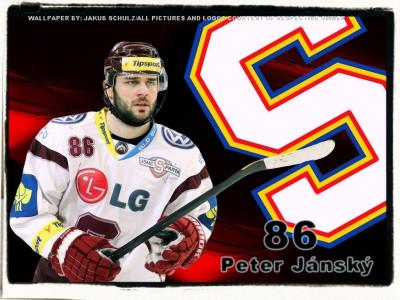 Tapeta: Peter Jansky - HC Sparta