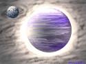 Tapeta Planeta X a jej mesíc