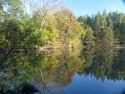 Tapeta Podzimní rybník