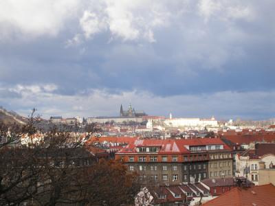 Tapeta: Pohled na Pražský hrad 2