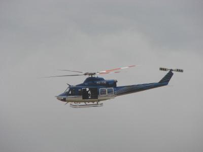Tapeta: policejní vrtulník