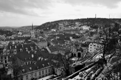 Tapeta: Praha čb 4
