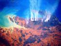 Tapeta Queensland z vesmíru