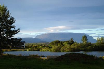 Tapeta: Ráno u Mývatnu