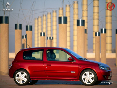 Tapeta: Renault Clio