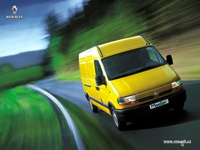 Tapeta: Renault Master