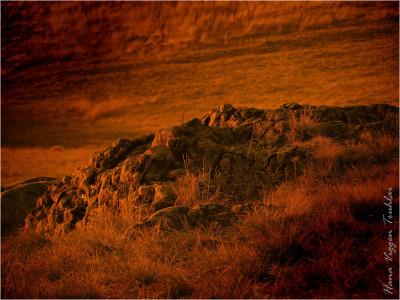 Tapeta: Rudá skála