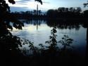 Tapeta rybník v šeru