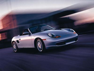 Tapeta: Rychlý Porsche Boxster