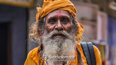 Tapeta: Sádhu - Rišikéš, Indie