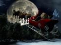Tapeta Santa vyráží
