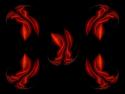 Tapeta Saténové plamínky