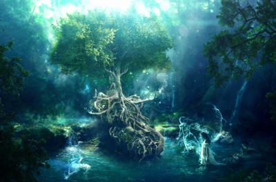 Tapeta: anthroposynthesis_by_erikshoemaker