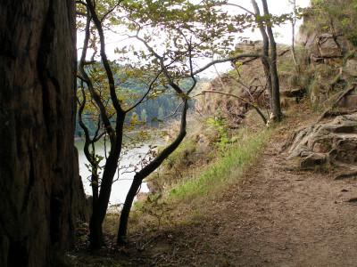 Tapeta: Seč-cesta na Oheb