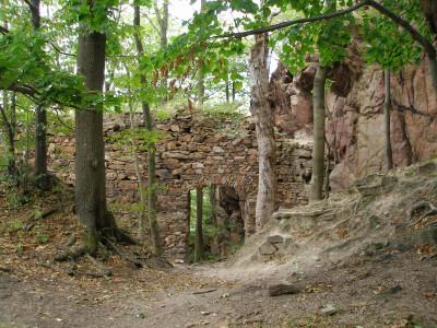 Tapeta: Seč-hradby hradu Oheb