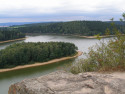 Tapeta Seč-Oheb-výhled na přehradu 05