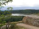 Tapeta Seč-Oheb-výhled na přehradu 06