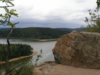 Tapeta: Seč-Oheb-výhled na přehradu 07