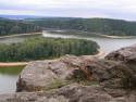 Tapeta Seč-Oheb-výhled na přehradu 09